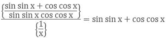 Simplifying the denominator