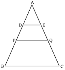 ABC is a triangle