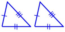 SSS Congruence rule