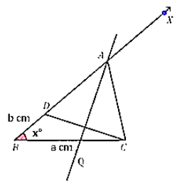 construct a triangle