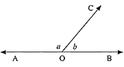 ∠AOC and ∠BOC form a linear pair