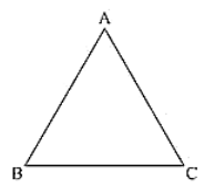 ABC Equilateral triangle