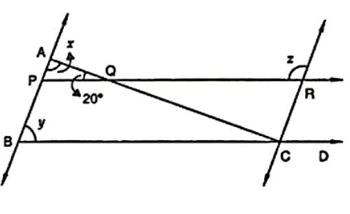 line CA ⊥ AB ∥ line CR and line PR ∥ line BD