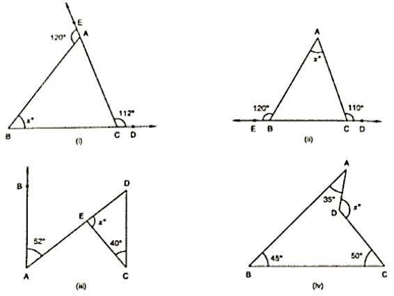Four triangle