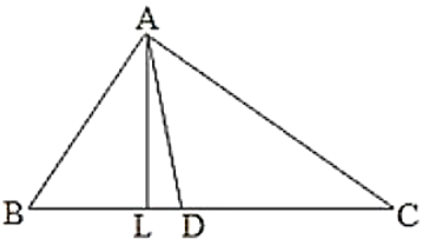 ∆ABC, ∠B = 60°, ∠C = 40°, AL perpendicular BC and AD bisects ∠A
