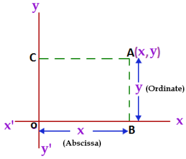 Coordinates of a Point