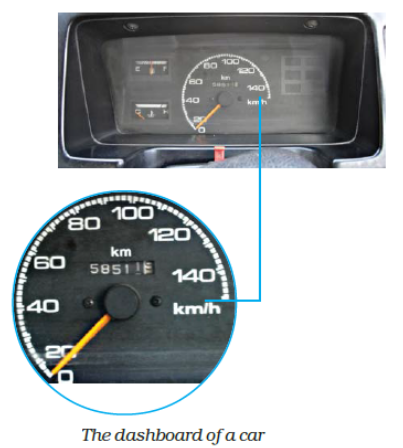 Measure of Distance and Speed of a car