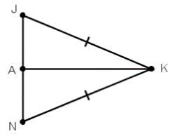 Triangles JKA and AKN