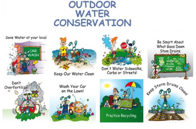 Outdoor Water Conservation Tips