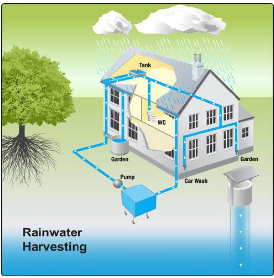Water harvesting or Rainwater harvesting