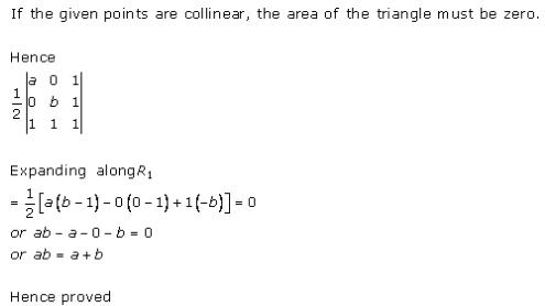 Determinants Ex 6.3 Q3
