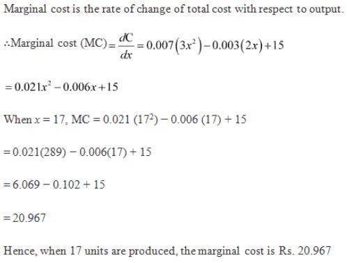Derivative as a Rate Measurer Ex 13.1 Q8