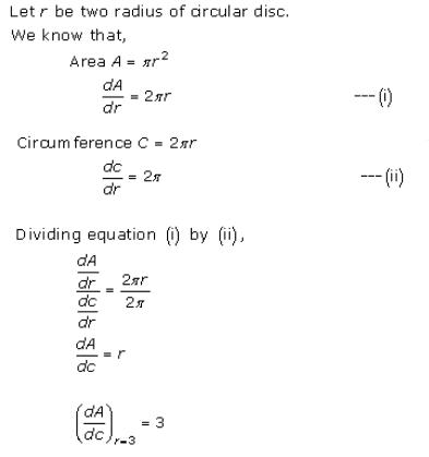Derivative as a Rate Measurer Ex 13.1 Q4