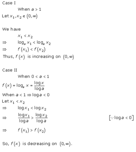 Increasing and Decreasing Functions Exercise 17.1.Q.2