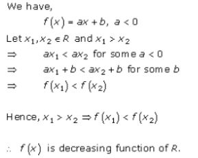 Increasing and Decreasing Functions Exercise 17.1.Q.4