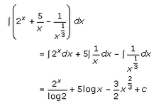 Indefinite Integrals Exercise 19.2.Q.2