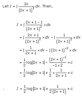Indefinite Integrals Exercise 19.3.Q.7
