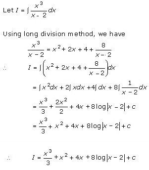 Indefinite Integrals Exercise 19.4.Q.2
