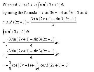 Indefinite Integrals – Exercise 19.6 – Q.2