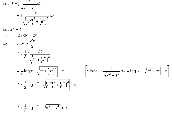 Indefinite Integrals – Exercise 19.13 – Q.1