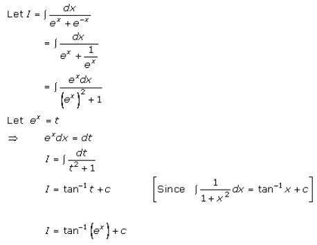 Indefinite Integrals – Exercise 19.16 – Q.6