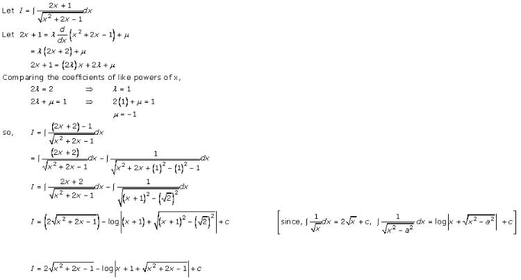Indefinite Integrals – Exercise 19.21 – Q.2