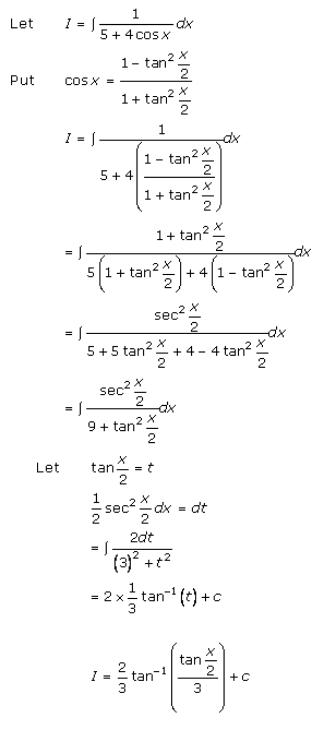 Indefinite Integrals – Exercise 19.23 – Q.1