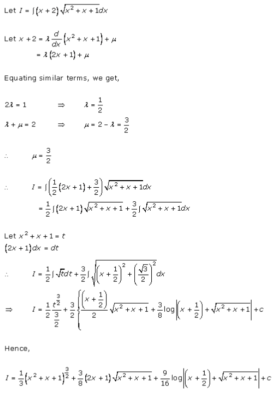 Indefinite Integrals – Exercise 19.29 – Q.4