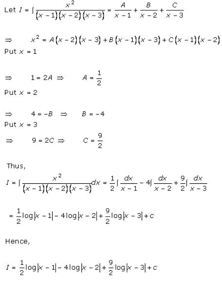 Indefinite Integrals – Exercise 19.30 – Q.6