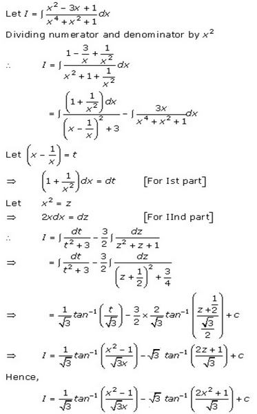 Indefinite Integrals – Exercise 19.31 – Q.5