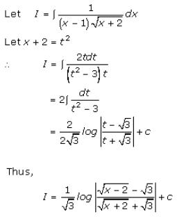 Indefinite Integrals – Exercise 19.32 – Q.1