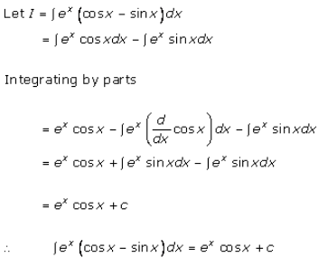 Indefinite Integrals – Exercise 19.26 – Q.1