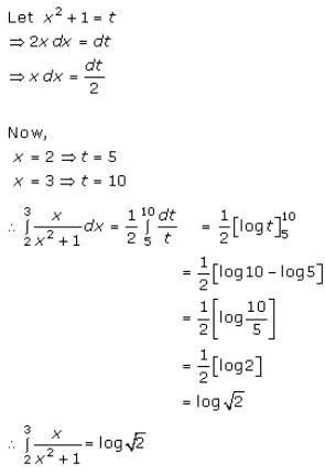 Definite Integrals – Exercise 20.1 – Q.5