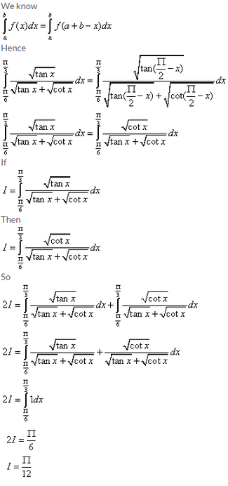 Definite Integrals – Exercise 20.4 – Q.3