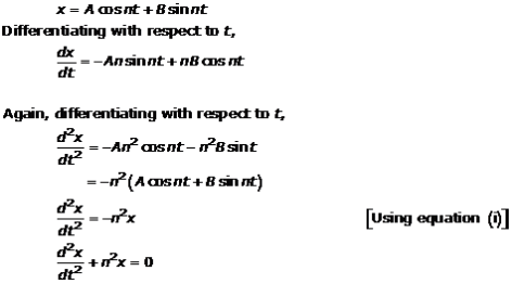 Differential Equations – Exercise 22.2 – Q.5