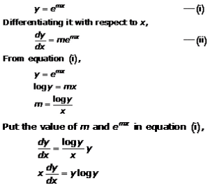 Differential Equations – Exercise 22.2 – Q.2