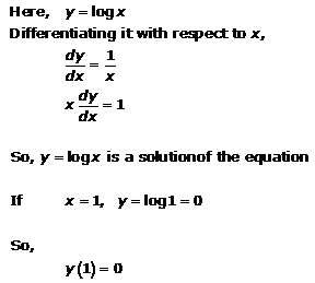 Differential Equations – Exercise 22.4 – Q.1
