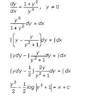 Differential Equations – Exercise 22.6 – Q.2