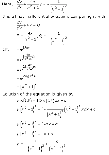 Differential Equations – Exercise 22.10 – Q.7