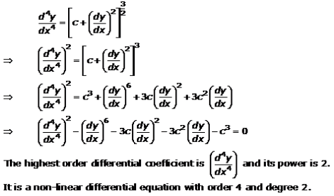 Differential Equations – Exercise 22.1 – Q.7
