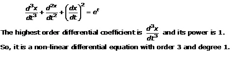 Differential Equations – Exercise 22.1 – Q.1