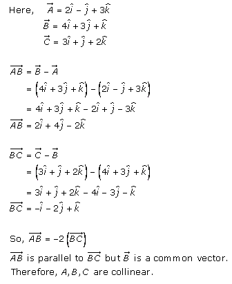 Algebra of Vectors – Exercise 23.8 – Q.2(ii)