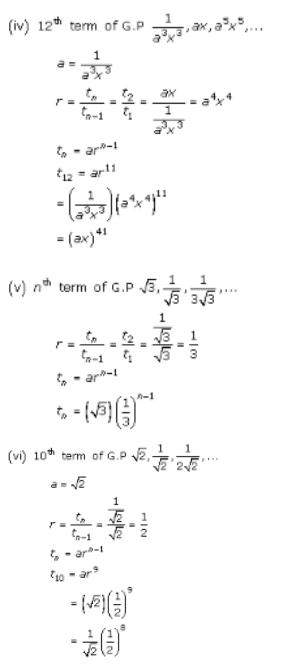 Geometric Progressions – Exercise – 20.1 – Q.3(i)
