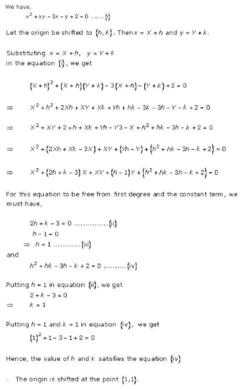 Brief Review of Cartesian System of Rectangular Coordinates – Exercise – 22.3 – Q.4