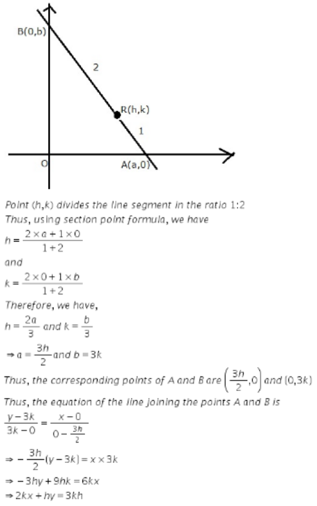 The Straight Lines – Exercise – 23.6 – Q.9