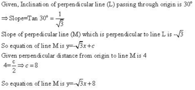 The Straight Lines – Exercise – 23.7 – Q.2