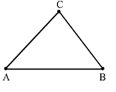 Collinear points A, B, C