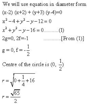The Circle – Exercise – 24.3 – Q.1