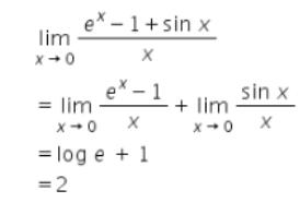 Limits – Exercise – 29.10 – Q.16