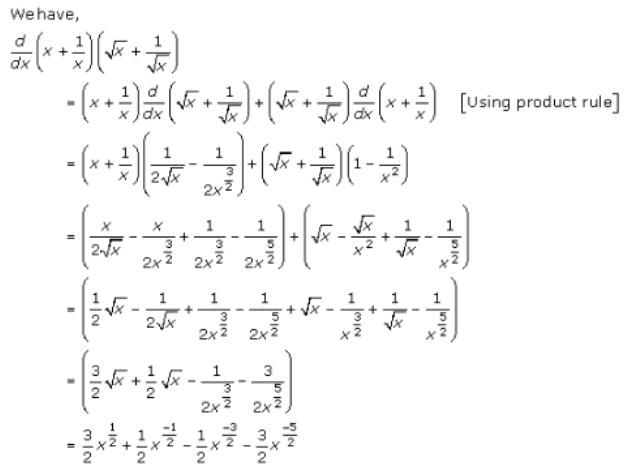Derivatives – Exercise – 30.3 – Q.7